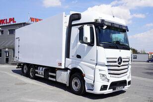 MERCEDES-BENZ Actros 2545 , E6 , 6X2 , 18 EPAL , heigh 2,6m , side door , reta hűtős teherautó