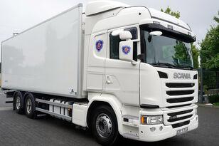 SCANIA G490, Meat hooks , 19 EPAL  hűtős teherautó