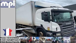 sérült SCANIA P340 hűtős teherautó