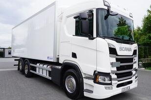 SCANIA SCANIA R500, Euro 6, 6x2, 19 EPAL refrigerator , lifting axle, N hűtős teherautó
