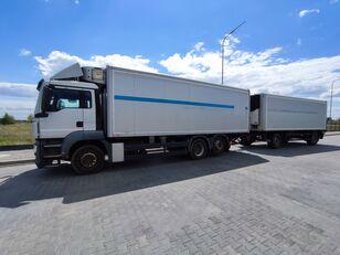MAN TGS TGS 26 320 hűtős teherautó + pótkocsi