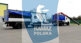 új KAMAZ 6x6 SERWISOWO-WARSZTATOWY katonai teherautó