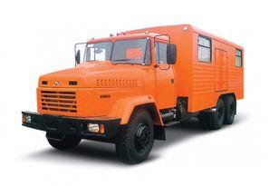 új KRAZ 65053 мастерская  katonai teherautó