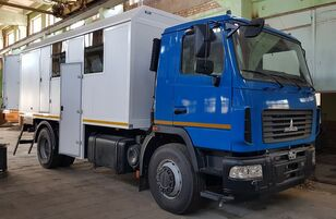 új MAZ 5340 katonai teherautó
