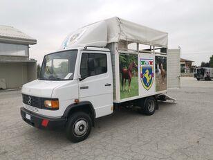 MERCEDES-BENZ 609 TRASPORTO CAVALLI lószállító teherautó