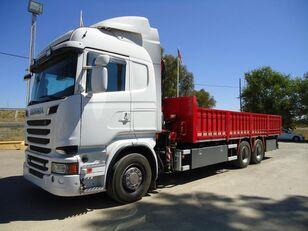SCANIA R 730 platós teherautó