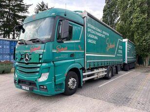 MERCEDES-BENZ 2545 L 6X2 ACTROS / EURO 6 ponyvás teherautó