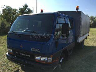 MITSUBISHI CANTER DOKA P+P 4m-es platóval ponyvás teherautó