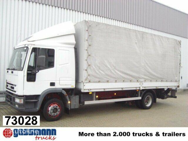 IVECO EuroCargo / 120E24 / Standheizung/NSW ponyvás teherautó