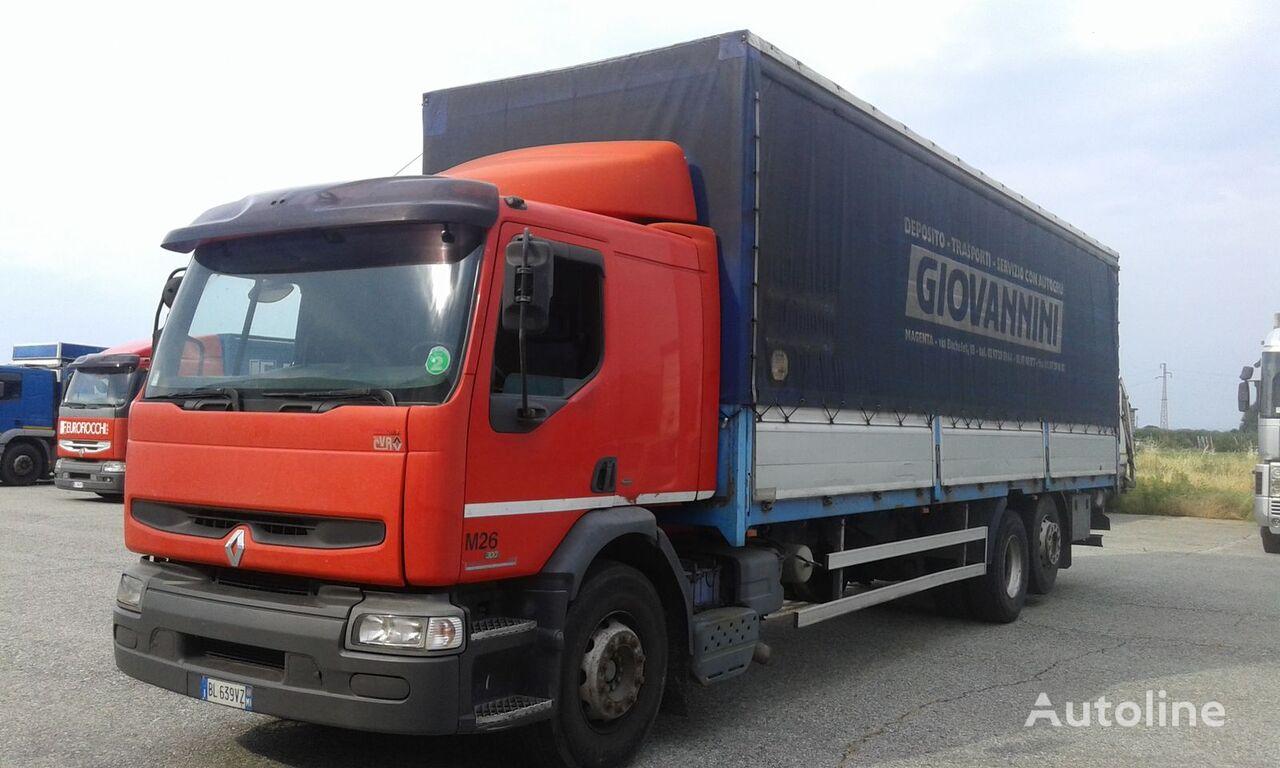 RENAULT PREMIUM 300 ponyvás teherautó