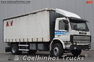 SCANIA 93M 230 ponyvás teherautó