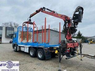 MAN TGS 26.480  rönkszállító teherautó