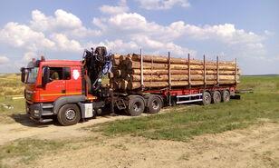 MAN TGS 26.480 6x4 BB rönkszállító teherautó
