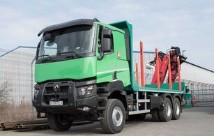 új RENAULT K 520 P HEAVY rönkszállító teherautó