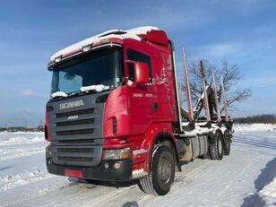 SCANIA R-420 rönkszállító teherautó