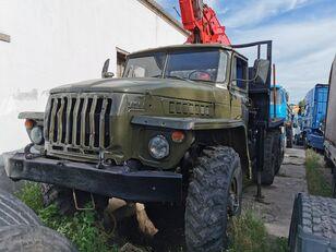 URAL HYAB rönkszállító teherautó