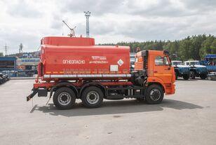 új KAMAZ АЦ - 17 с насосом на шасси Камаз 65115-50 tartálykocsi teherautó