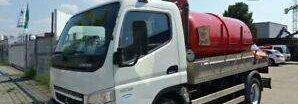 MITSUBISHI CANTER 7C15 tartálykocsi teherautó