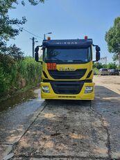 OMSP Iveco stralis üzemanyagszállító teherautó
