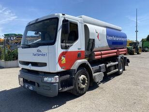 sérült RENAULT Premium 270 üzemanyagszállító teherautó