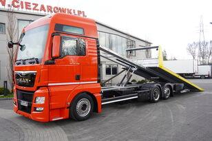 MAN TGX 26.440 XXL , E6 , 6X2 , NEW BODY 7,5m , hydraulic , 2x winch vontató