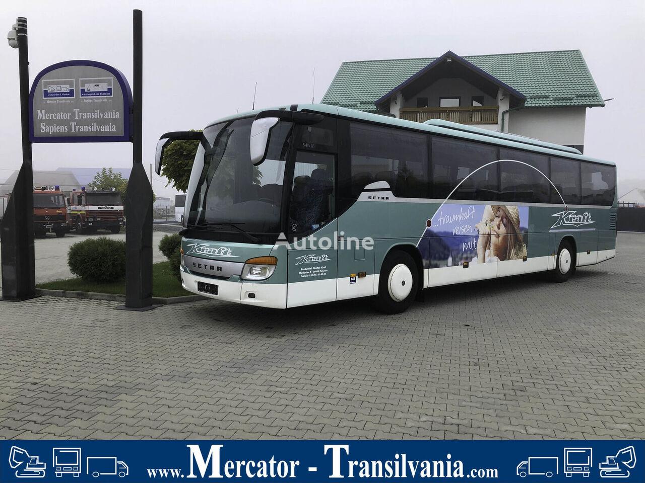 SETRA  S 415 GT   WC   Xenon   Schaltgetriebe   Retarder   408 PS városnéző busz